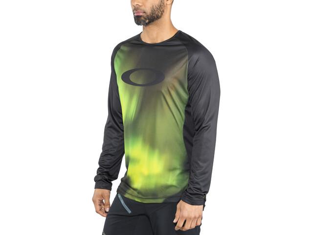 Oakley MTB T-shirt Tech à manches longues Homme, aurora borealis